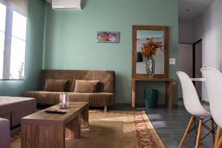 Deluxe Suite Okyrroi Alissachni Sofa