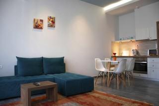 Junior Suite Ianira Alissachni Living Room